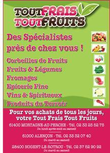 Affiche Tout frais tout fruits