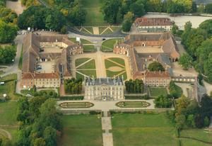 vue aérienne du Haras du Pin(copyright Fabrice Simon)