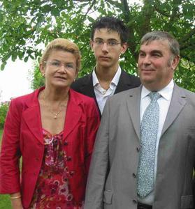 Marie-France, Constant et Jean-Marie Chatel