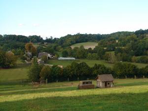 paysage autour de la ferme