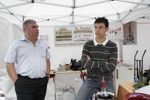 Jean-Marie et Constant Chatel au festival Automne Gourmand à Bagnoles de l'Orne