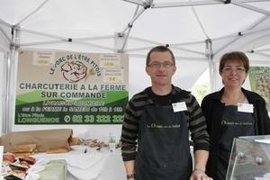 Françoise Jaumard et Joël Chevalier au festival Automne Gourmand 2010 à Bagnoles de l'Orne