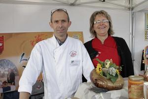 Laurent et Claudine Le Goff au festival Automne Gourmand 2010 à Bagnoles de l'Orne