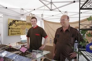 Henri Lenoir au festival Automne Gourmand 2010 à Bagnoles de l'Orne
