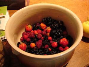 Quelques fruits rouges