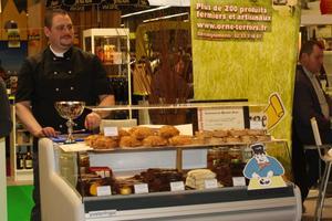 Thomas Habert au Salon international de l'Agriculture 2010