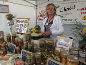 Claudine Le Goff sur le festival Automne Gourmand (Bagnoles de l'Orne)