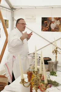 Franck Quinton au festival Automne Gourmand (tous les ans en septembre à Bagnoles de l'Orne)