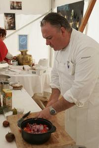Franck Quinton au festival Automne Gourmand